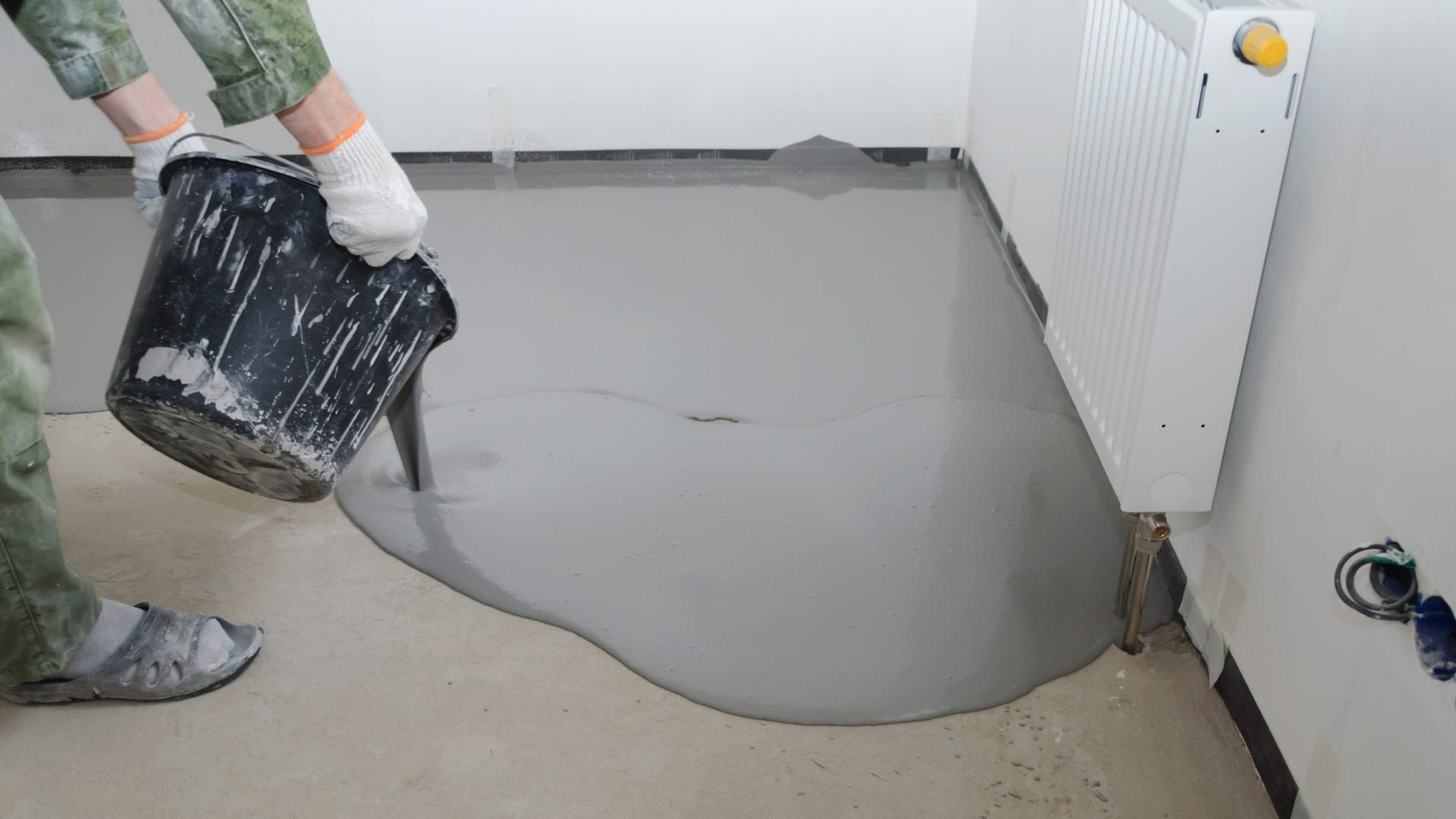Levellers, Screed and Smoothing