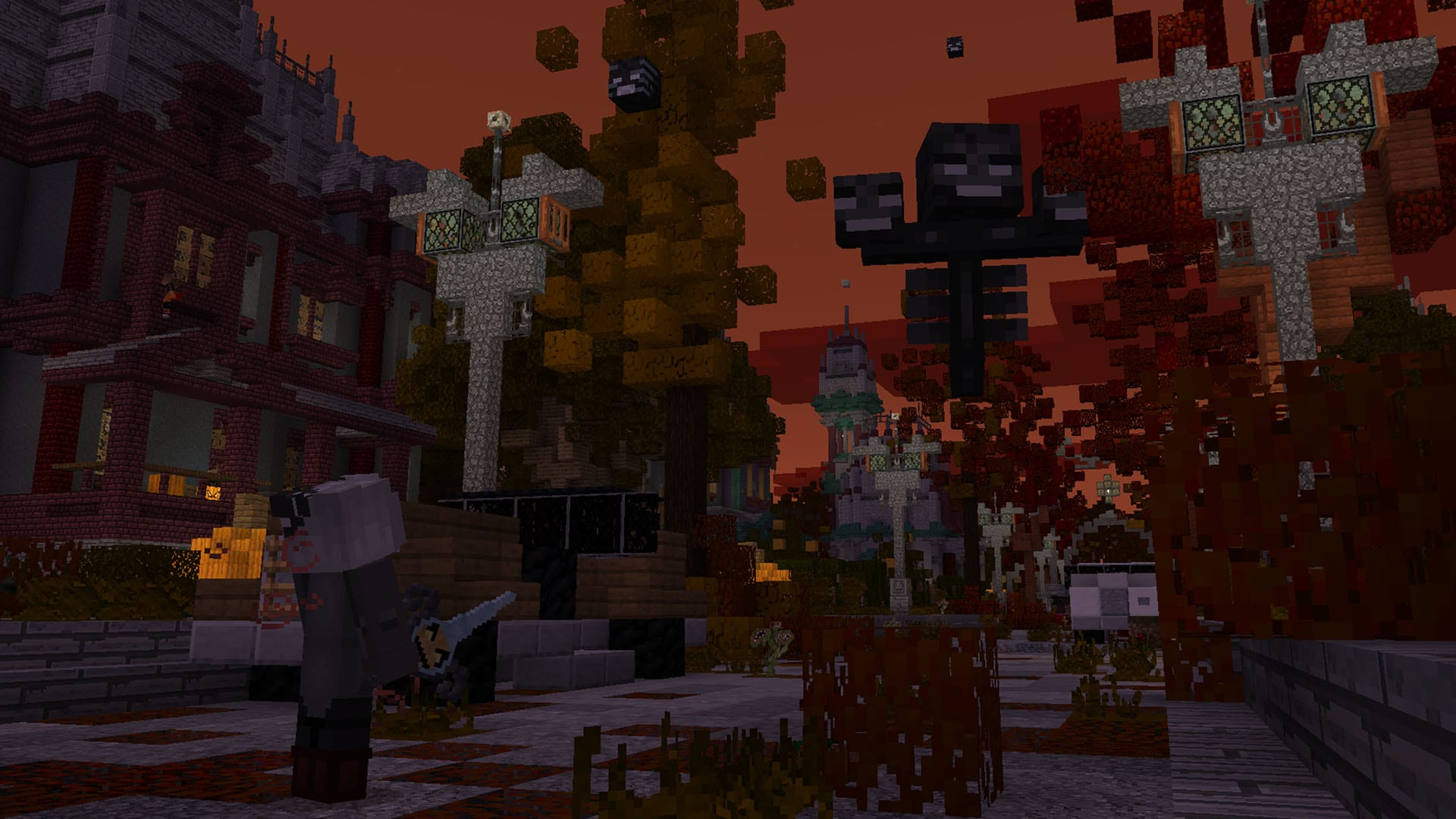 Hollow End Minecraft Aurrora Minecraft Marketplace The Wither
