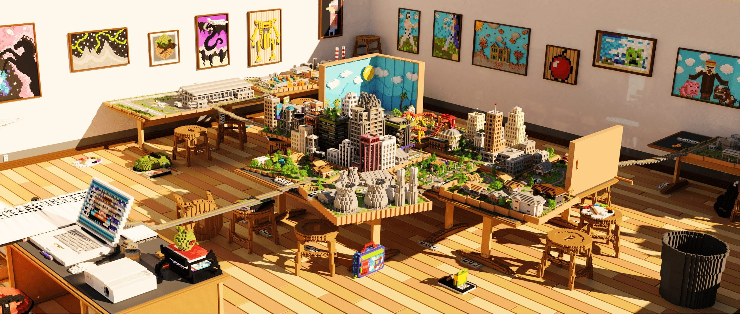 Papercraft 2: City Project by Jigarbov Productions Minecraft Marketplace